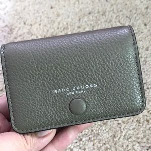 March Jacobs leather small wallet